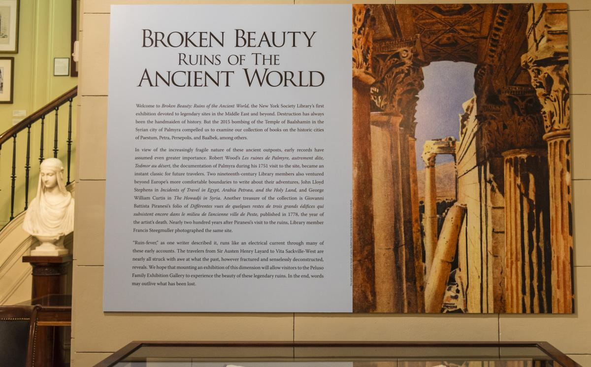 Broken Beauty Introductory Wall Panel