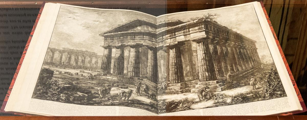 Giovanni Battista Piranesi: View of the Temple of Neptune