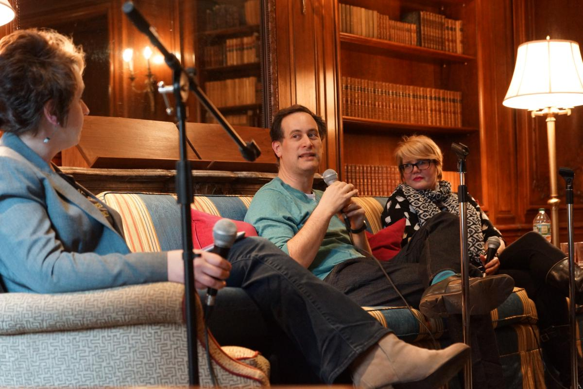 David Levithan and Libba Bray join Jennifer Hubert Swan in conversation.