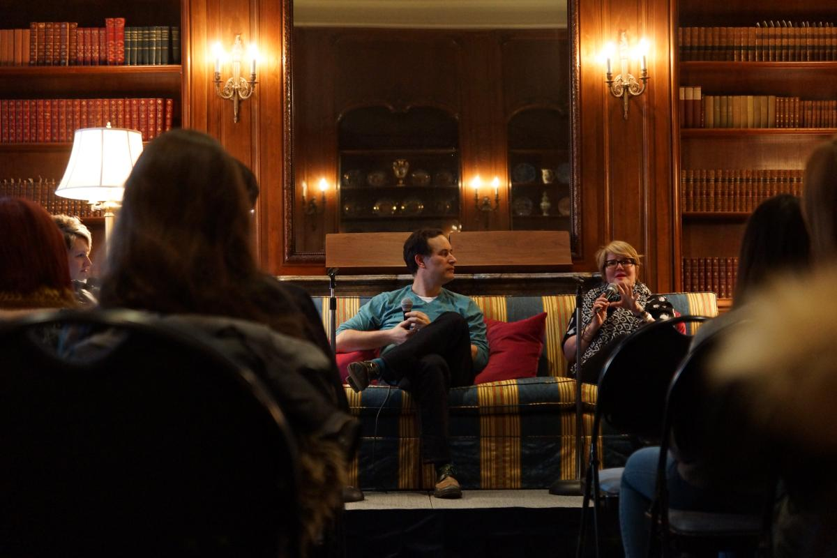 Libba Bray and David Levithan discuss topics surrounding young adult literature.