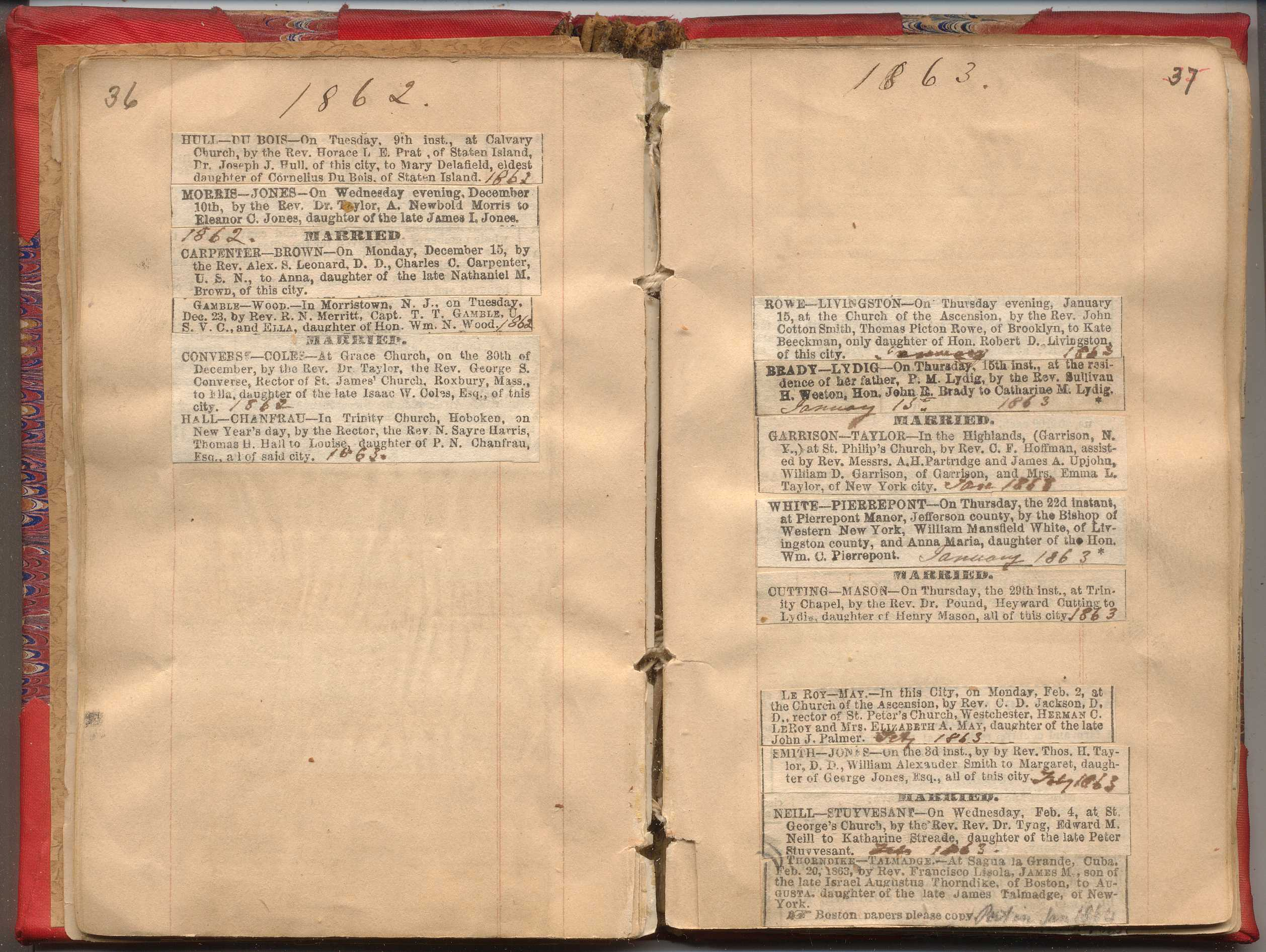 Nyc marriage death notices 1857 1868 new york society library aiddatafo Image collections
