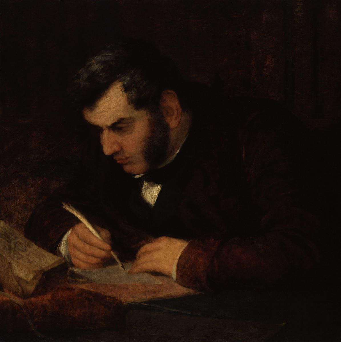 Sir Anthony Panizzi by George Frederic Watts