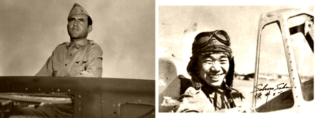 Flyboys Louis Zamperini (Unbroken) and Saburo Sakai (Samurai!)