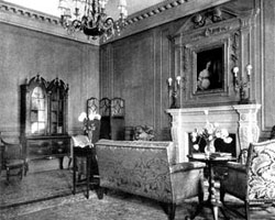 NYSL: Reception Room, 1919. The Architectural Review