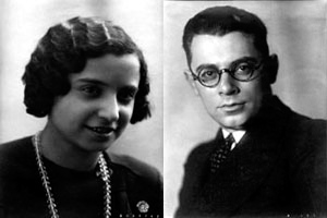 Assunta and Ignazio Peluso, Moscow, late 1930s.