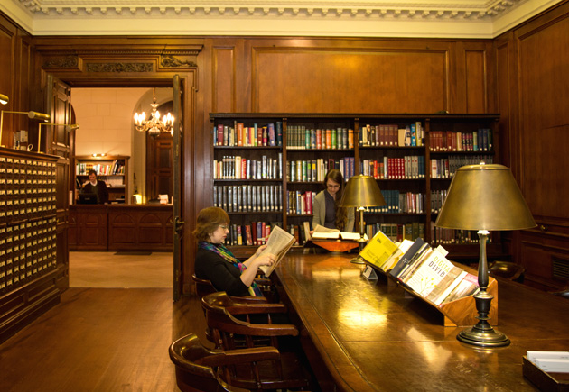 Reference Room New York Society Library