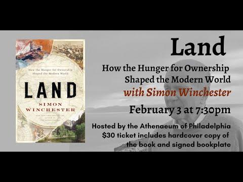 Embedded thumbnail for Simon Winchester, Land: How the Hunger for Ownership Shaped the Modern World