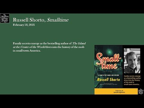 Embedded thumbnail for Russell Shorto, Smalltime: A Story of My Family and the Mob