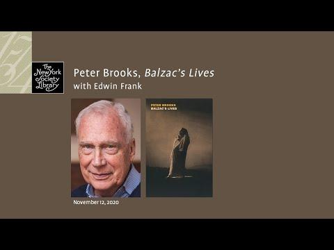 Embedded thumbnail for Peter Brooks, Balzac's Lives, with Edwin Frank