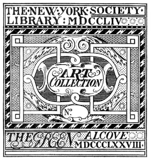 The Library's Green Art Collection bookplate.