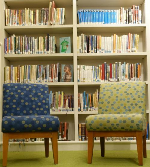The Children's Library is a great space for young members to read.