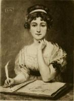 Jane Austen, Emma's creator and lonesome friend.