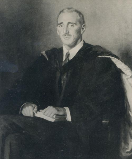 Former Library chairman Arnold Whitridge