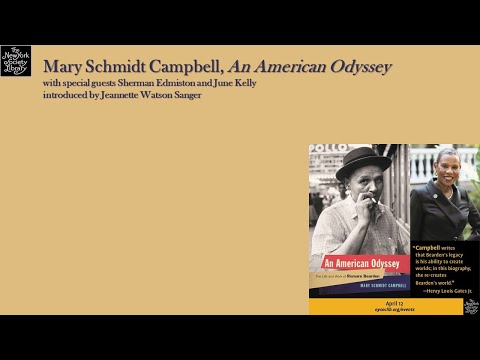 Embedded thumbnail for Mary Schmidt Campbell, An American Odyssey: The Life and Work of Romare Bearden, with special guests