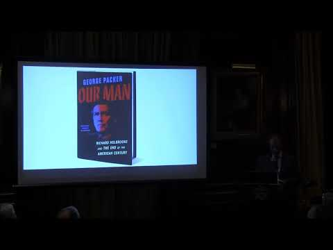 Embedded thumbnail for George Packer, Our Man: Richard Holbrooke and the End of the American Century