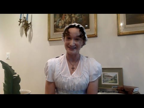 Embedded thumbnail for Performance: Laura Rocklyn as Jane Austen: Who Dares to Be an Authoress?